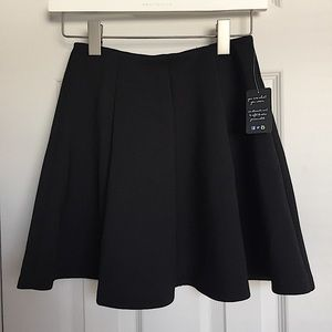 NWT Black Circle Skirt